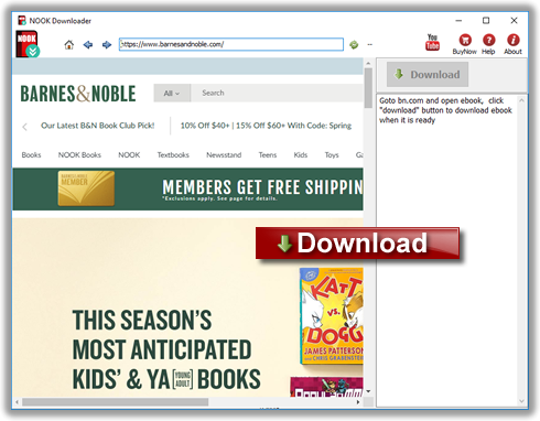 NOOK Downloader